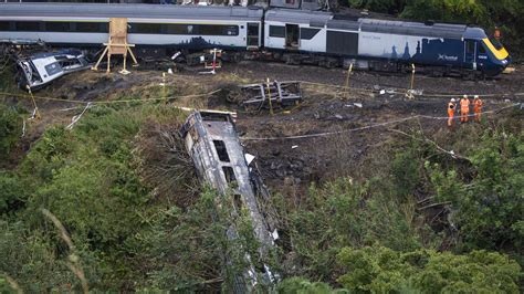 Stonehaven derailment: Train reached speed of 73mph before