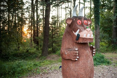 Gruffalo Sculpture at Delamere   Forestry England