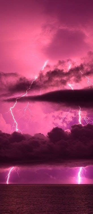 Pink lightning and sky! Love everything pink!!!   Color
