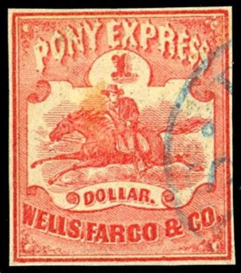 The first Pony Express   History Today