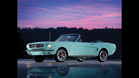 1965 Ford Mustang Convertible - YouTube