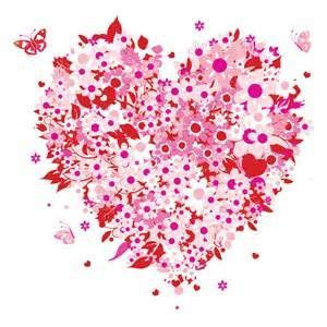 Mother's Day heart clip art | Vector floral, Pictures of