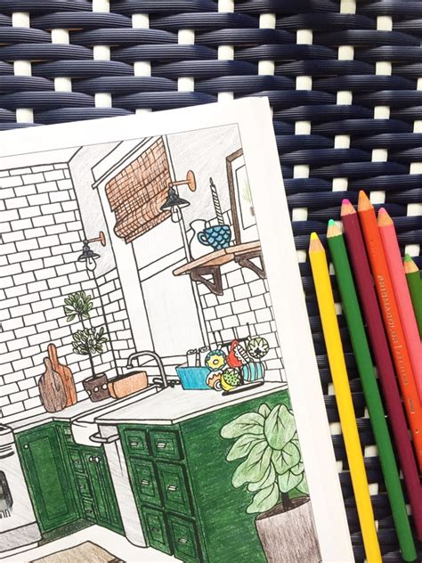 Interior Design Coloring Book - The Inspired Room - The