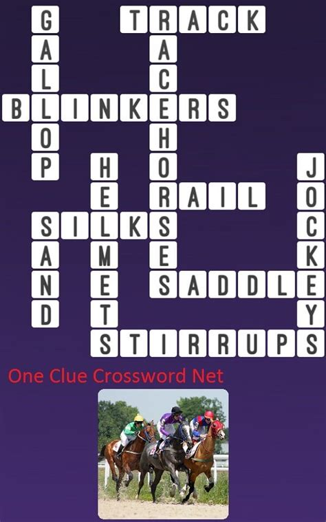 Race Horse - Get Answers for One Clue Crossword Now