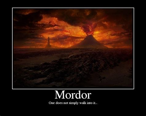 Lord Of The Rings Boromir One Does Not Simply Mor   Meme