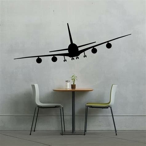 Airplane - Wall Vinyl Decal Sticker Family Kids Room