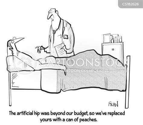 Hip Replacement Cartoons and Comics - funny pictures from