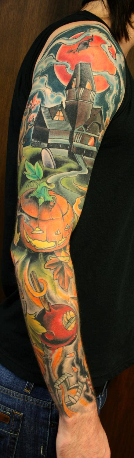 Halloween Tattoos Designs, Ideas and Meaning | Tattoos For You
