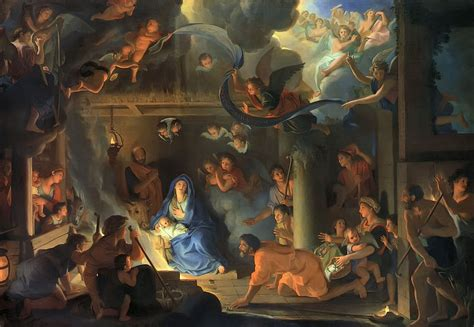 File:Le Brun, Charles - Adoration of the Shepherds - 1689