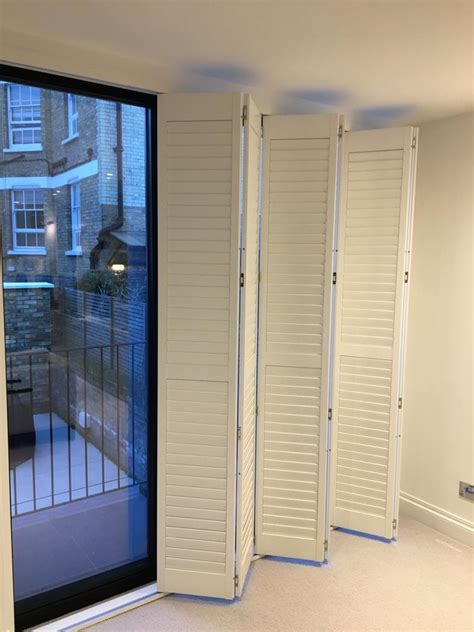 Can you put shutters on bifold or bypass doors? - Total