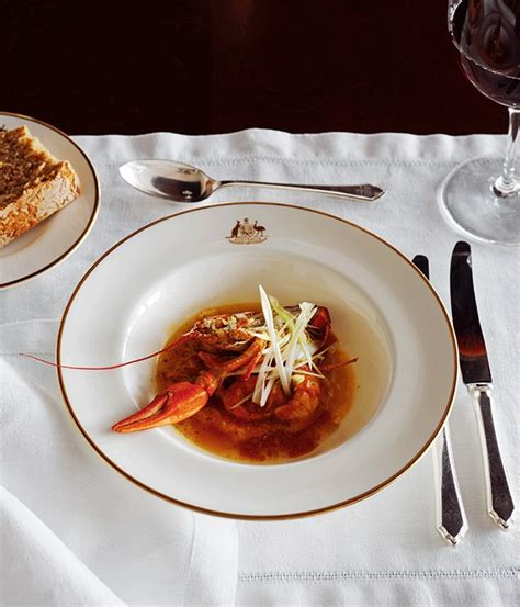Steamed egg, yabby and chilli recipe :: Gourmet Traveller