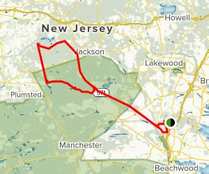 Northern Pine Barrens Lakes Ride - New Jersey   AllTrails