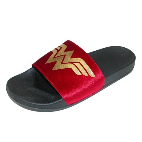 This Wonder Woman slipper is perfect for the superhero fan