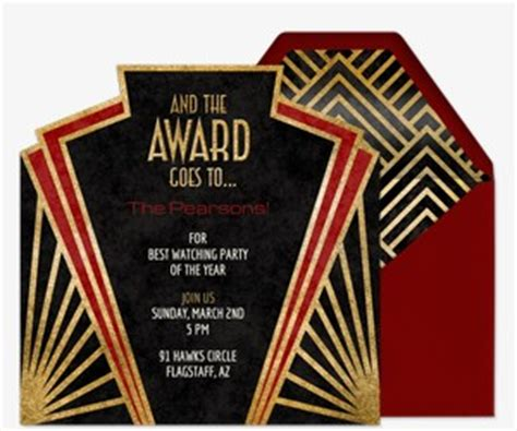 Awards Show Viewing Party - Evite