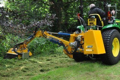 Boom mower, Brush cutter, Flail boom | Tractor accessories