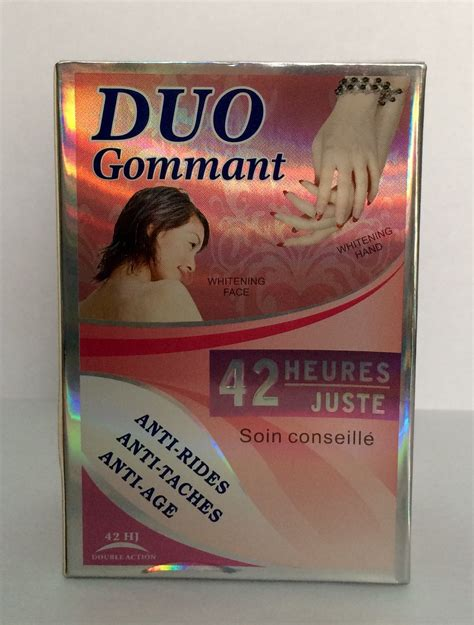 DOUBLE SCRUB JUST 42 HOURS TRIPPLE ACTION DUO GOMMANT