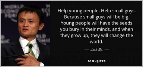 Jack Ma, founder of Alibaba talks about poor people