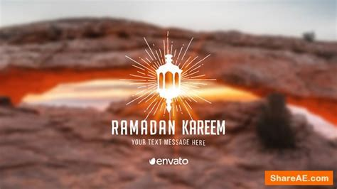 Videohive Ramadan Titles » free after effects templates