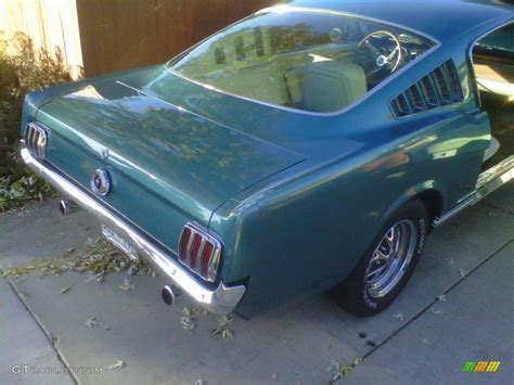 1965 Twilight Turquoise Ford Mustang Fastback #88770341