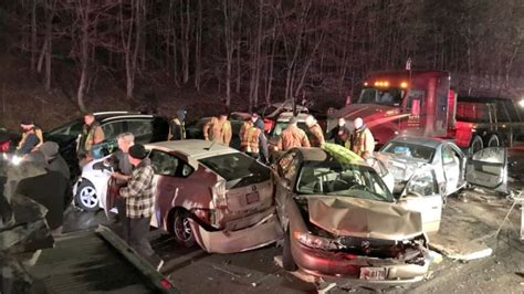 18 vehicles involved in Maryland crash; multiple serious