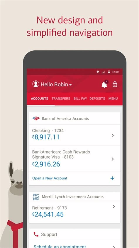 Bank of America's Android App Gets Redesigned