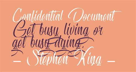 Confidential Document free Font - What Font Is
