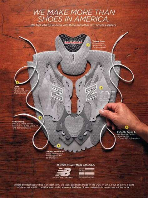 This New Balance Ad Shows Where US Components Come From