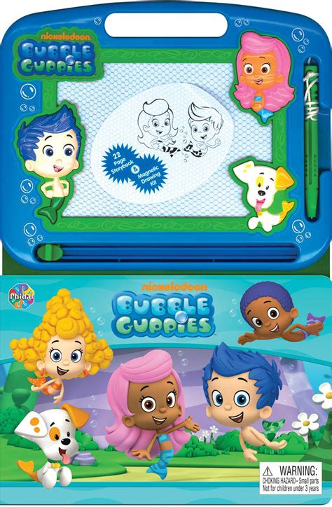Phidal Publishing Bubble Guppies Magnetic Sketch Pad Book