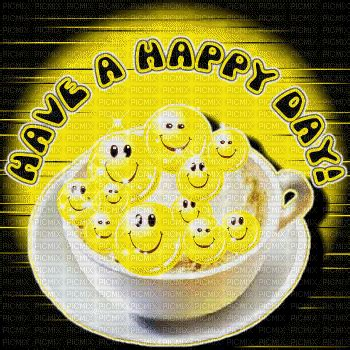 text happy day smiley gif fond image glitter anime, text