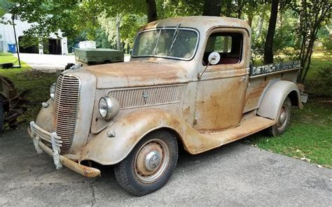 At Your Service: 1937 Ford Pickup – Barn Finds