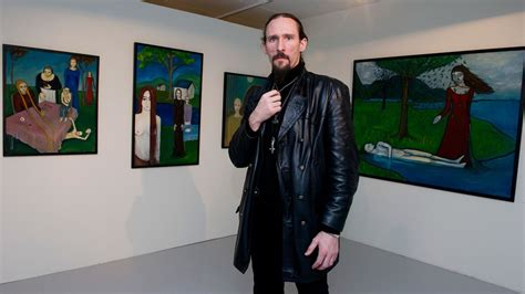 Black metal icon Gaahl discusses his artwork exhibit at By