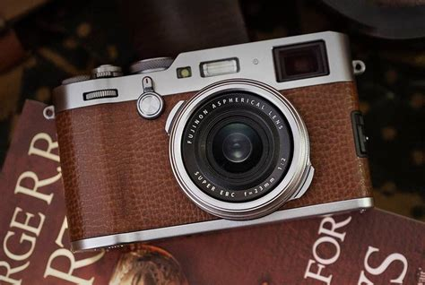 Fujifilm's X100F gets an update in brown leather - Acquire