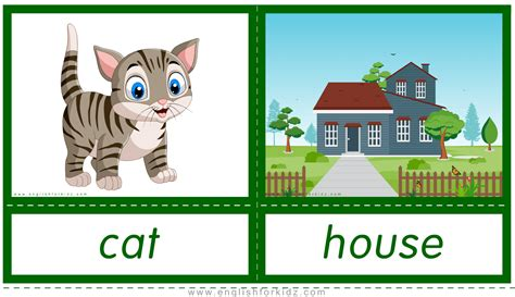 English for Kids Step by Step: Printable Flashcards