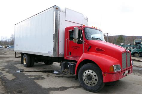 2003 Kenworth T300 Single Axle Box Truck for sale by