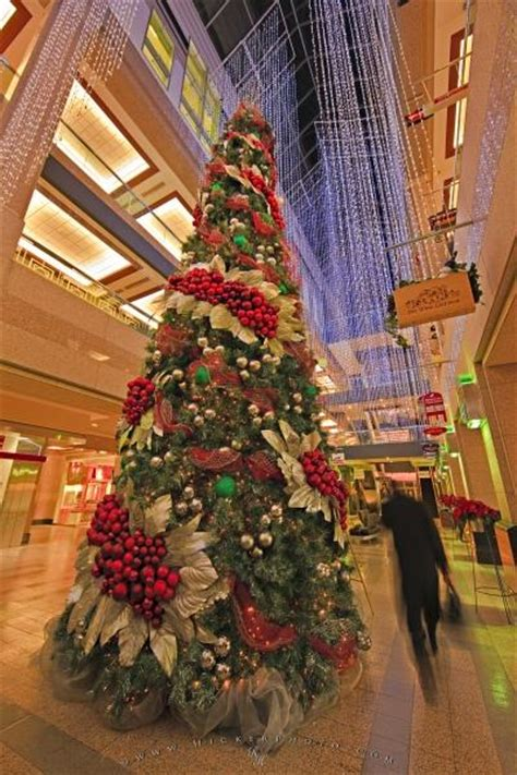 Mall Decorated Christmas Tree Picture | Photo, Information