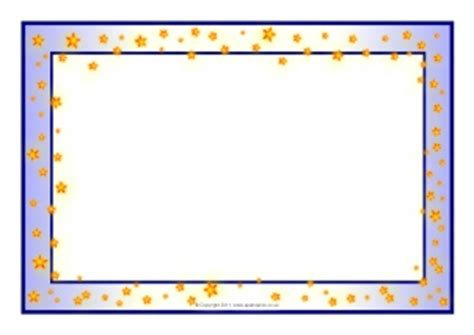 Themed A4 Page Borders for Kids, Editable Writing Frames