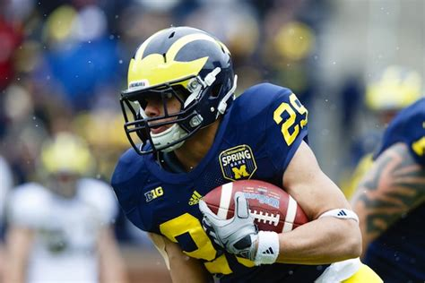 Michigan RB Drake Johnson (ACL) out for the rest of 2013