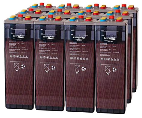 Battery EnergyCell 6 OPzS 600 12 units - Solar Battery