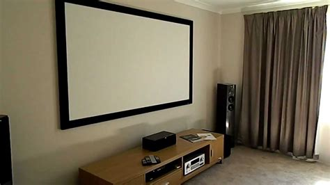 DIY HOME THEATER - YouTube