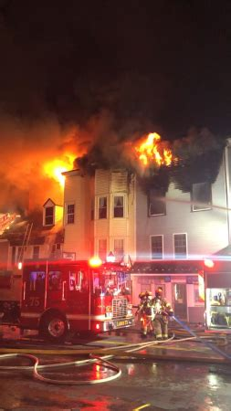 Part of Downtown Old Town, Maine Engulfed in Flames [Video