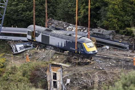 Inquiry after trains sped through Stonehaven crash site