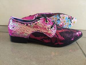 Irregular Choice 'Mighty Fine' (E) Pink Sequin Lace Up Low
