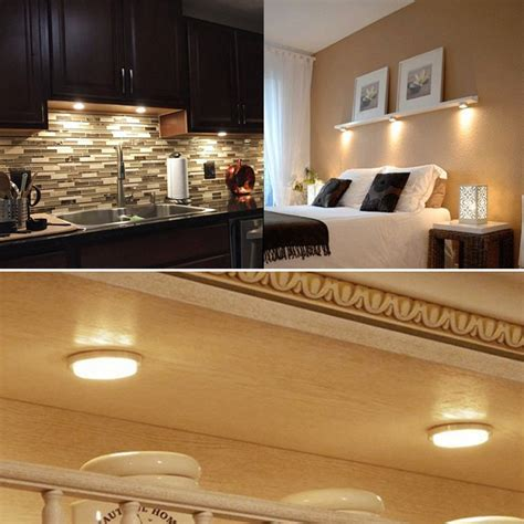LED Puck Lights, Under Cabinet Lighting – Daily Cool Gadgets