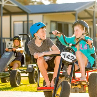 Pedal Go-Kart Hire Lakes Entrance » BIG4 Whiters Holiday