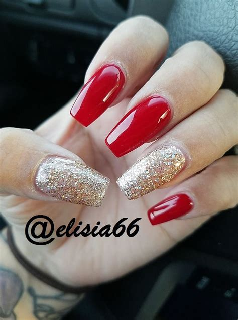 #acrylicnails #red #rednails #nails #acrylic #gelnails #