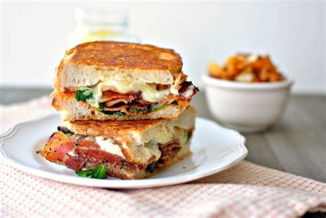 Simply Scratch Fancy BLT Grilled Cheese Sandwiches