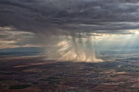 Stunning aerial photo purportedly shows torrential