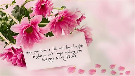 Happy New Year 2021 Rose Flowers Love Wallpapers Hd